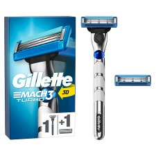Gillette Mach 3 Turbo 3D Razor For Men