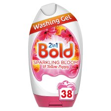 Bold 2 In 1 Bloom And Poppy Wash Gel 38 Washes 1406Ml