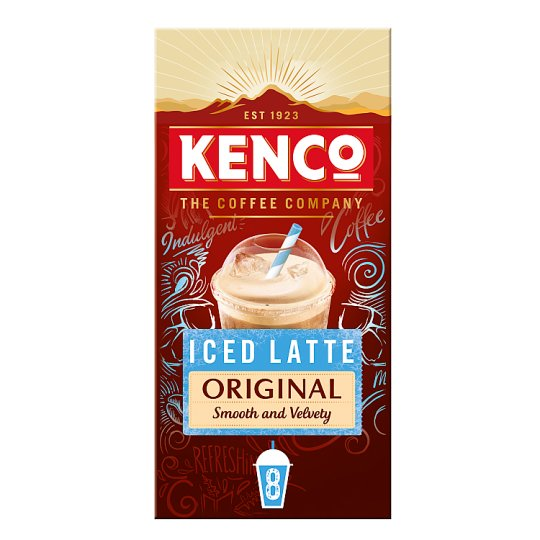 image 1 of Kenco Instant Iced Latte 8X21.5G