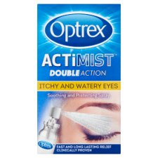 image 1 of Optrex 2 In 1 Spray Itchy And Watery Eyes 10Ml