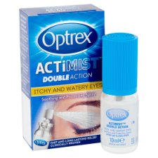 image 2 of Optrex 2 In 1 Spray Itchy And Watery Eyes 10Ml