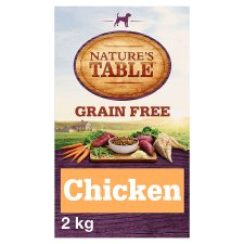 Nature's Table Chicken Grain Free Adult Dry Dog Food 2Kg