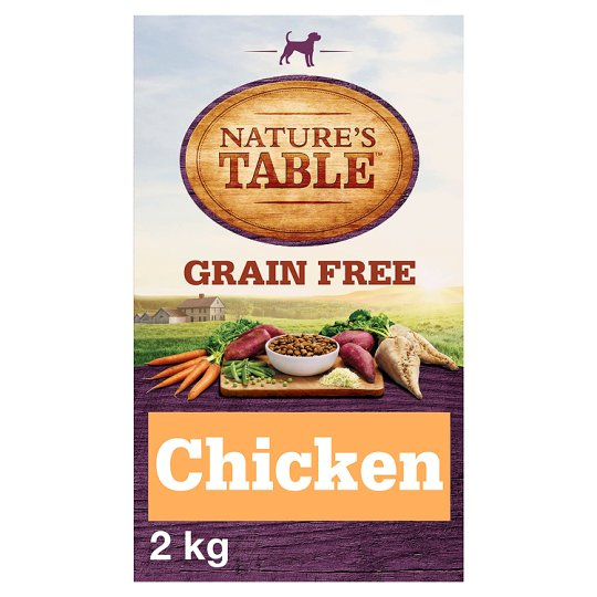 image 1 of Nature's Table Chicken Grain Free Adult Dry Dog Food 2Kg
