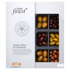 Tesco Finest Twelve Olives Of Christmas 259G