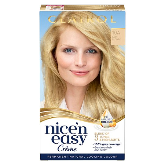 image 1 of Clairol Nice 'N Easy Baby Blonde 10A Hair Dye