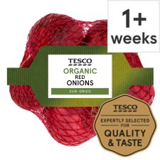 Tesco Organic Red Onions