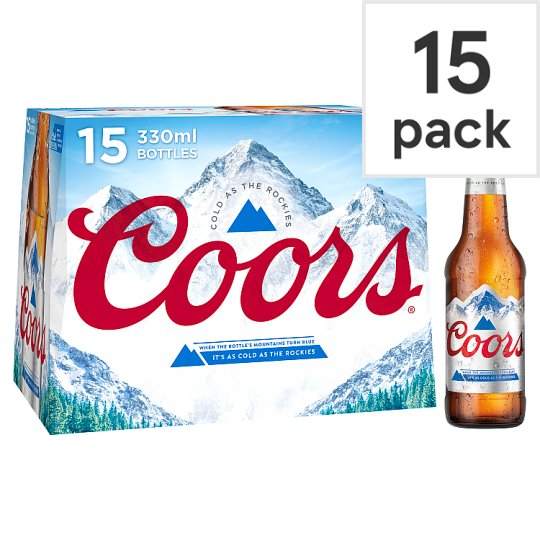 Coors Light 15 X 330Ml