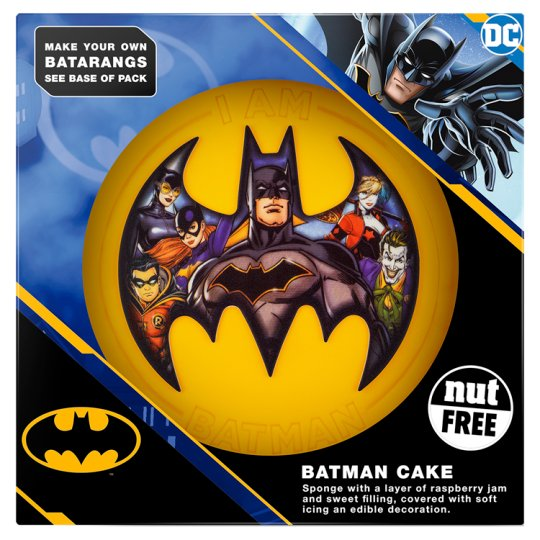image 1 of Batman Celebration Cake