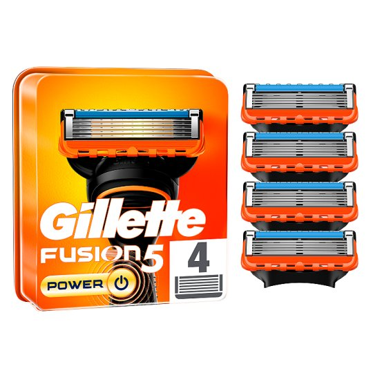Gillette Fusion Power Razor Blades Refill 4 Pack