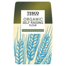 Tesco Organic Self Raising Flour 1Kg