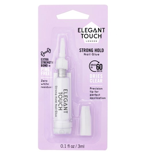 Elegant Touch Nail Glue 60 Seconds Dry