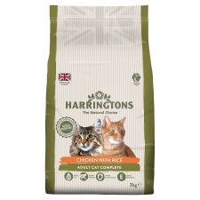 Harringtons Chicken And Rice Adult Cat Dry Food 2Kg