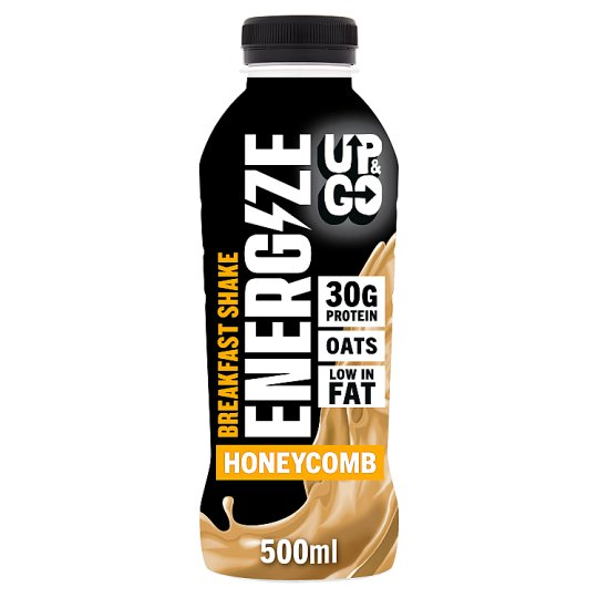 Up&Go Energize Protein Shake Honeycomb Flav500ml