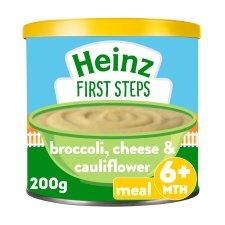Heinz First Steps Multigrain Cauliflower Broccoli Cheese 200G