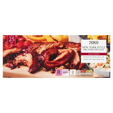 Tesco New York Style Pork Rib 460G