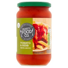 Hearty Food Co. Tomato And Herb Pasta Sauce 440G