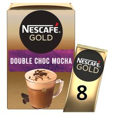 Nescafe Gold Double Chocolate Mocha Coffee 8 X 23G