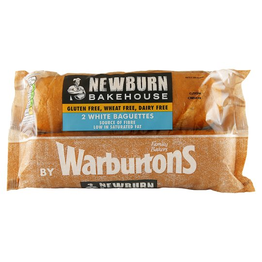 Warburtons White Baguettes 2 Pack