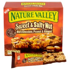 image 2 of Nature Valley Sweet And Salty Nut Dark Chocolate Bar 5X30g