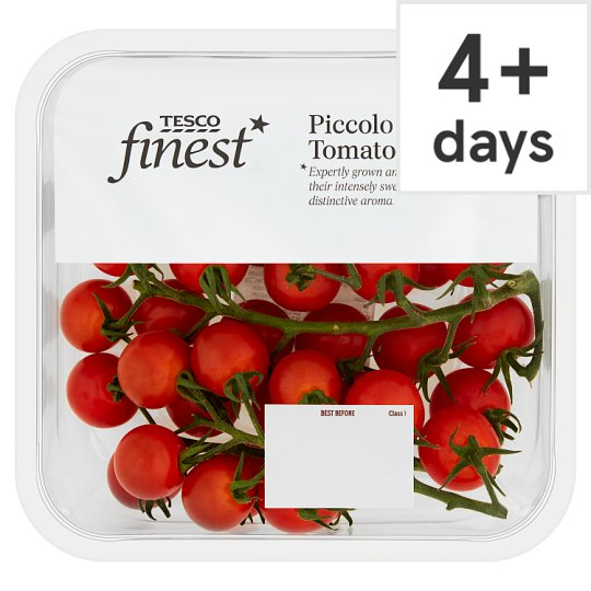 image 1 of Tesco Finest Piccolo Cherry Tomatoes 400G