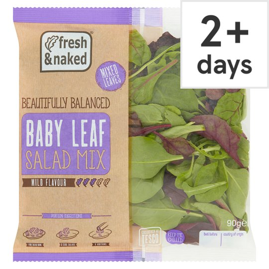 Fresh And Naked Mixed Little Leaves 90G