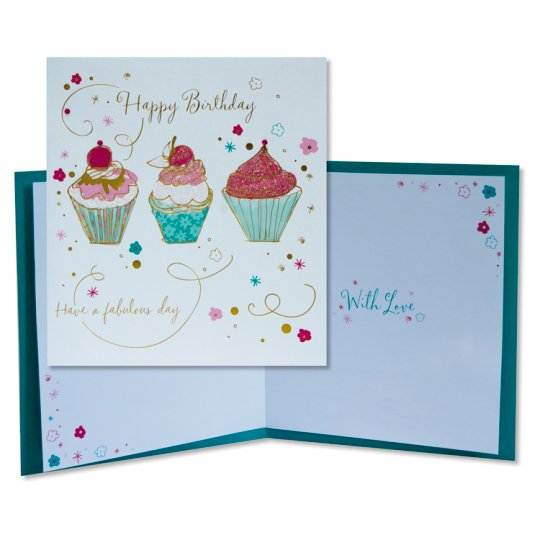 Tesco Birthday Card Happy Birthday Have A Fabulous Day