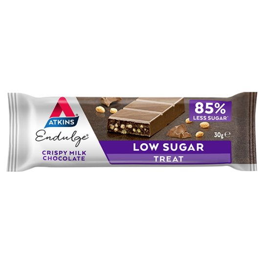 Atkins Endulge Milk Chocolate Crisp Bar 30G
