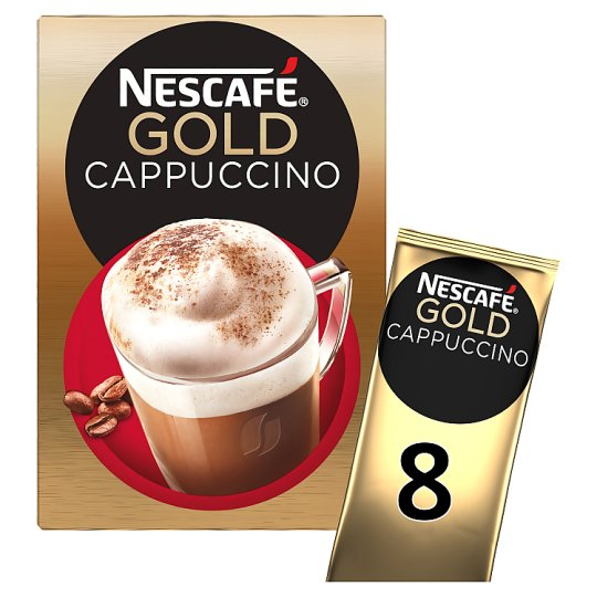 image 1 of Nescafe Gold Cappuccino 8 Sachets 136G