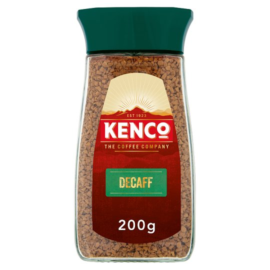 Kenco Decaffeinated Instant Coffee 200G