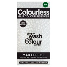 Colourless Hair Colour Remover Max Effect Kit