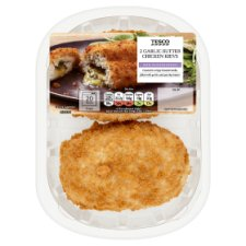Tesco Garlic Breaded Chicken Kievs 2 Pack 305G