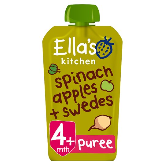 Ella's Kitchen Spinach Apple Plus Swede Stage 120G