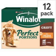 Purina Winalot Chicken And Carrot In Gravy 12X100g