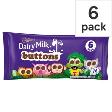Cadbury Dairy Milk Buttons 6 Pack