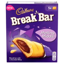 image 1 of Cadbury Break Bar Choco 130G