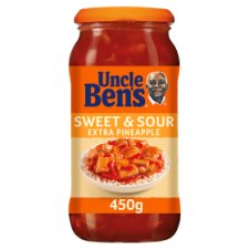 Uncle Ben's Sweet & Sour Extra Pineapple Sauce 450G
