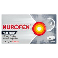 Nurofen Joint And Back 256Mg 16 Caplets
