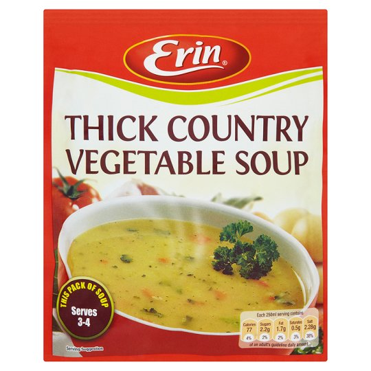 Erin Thick Country Vegetable Soup 72G