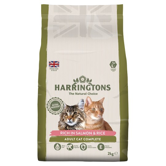 image 1 of Harringtons Salmon And Rice Adult Cat Dry Food 2Kg
