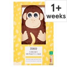image 1 of Tesco Cheeky Monkey Cake