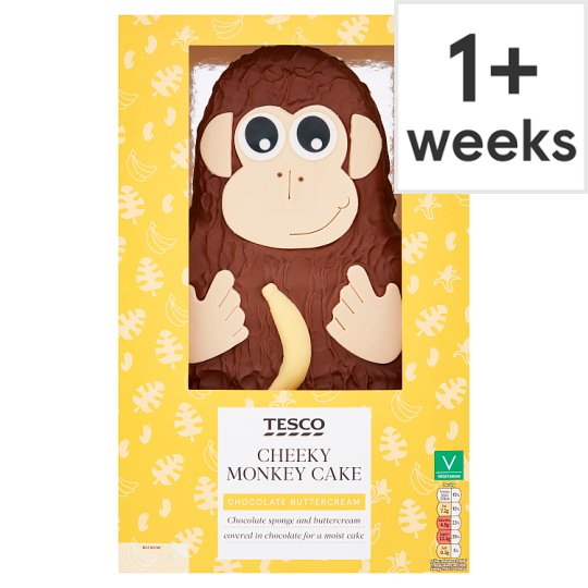 Monkey Birthday Cake Tesco