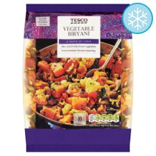 Tesco Vegetable Biriyani 700G
