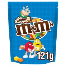 image 1 of M&Ms Crispy Pouch 121G
