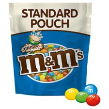 image 2 of M&Ms Crispy Pouch 121G