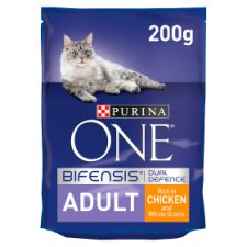 image 1 of Purina One Chicken/Whole Grains 200G