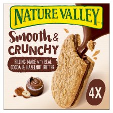 Nature Valley Nut Butter Biscuits Cocoa Hazelnut 4 Pack 152G