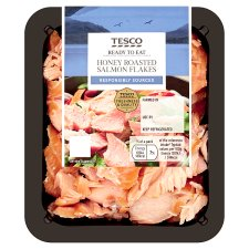 Tesco Honey Roast Salmon Flakes 120G