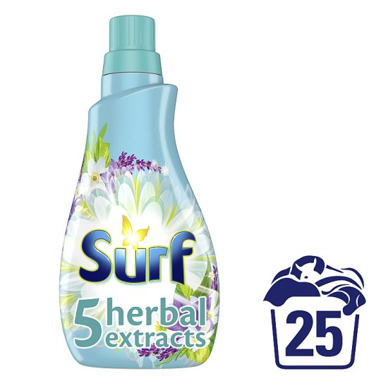 Surf 5 Herbal Extracts 25 Wash 875Ml