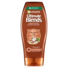 image 1 of Garnier Ultimate Blends Coconut Oil Conditioner Frizzy Hair 360Ml