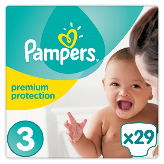 Pampers New Baby Size 3 Carry Pack - 29 nappies